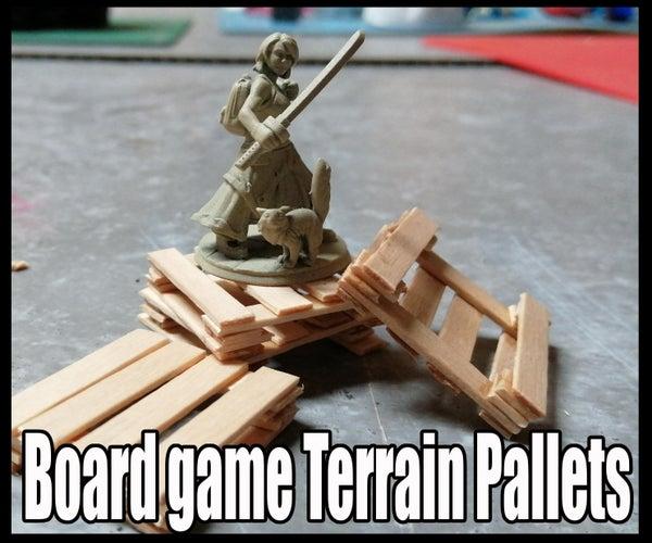 Board Game Terrain Pallets