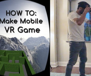 Mobile Virtual Reality Game IN UNDER 15 MINUTES!!