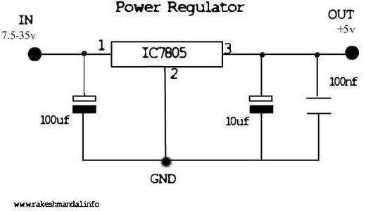 The Voltage Regulator.