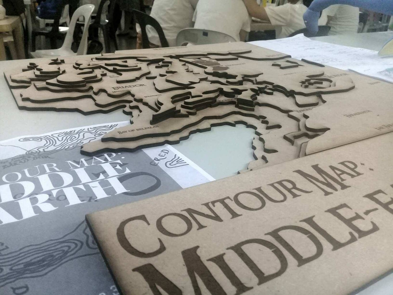 Contour Map: Middle-earth