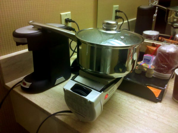 Hotel Cooking (or How to NOT Empty Your Wallet Eating Out)