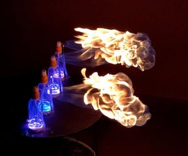 Fire, Music and Lights Sync