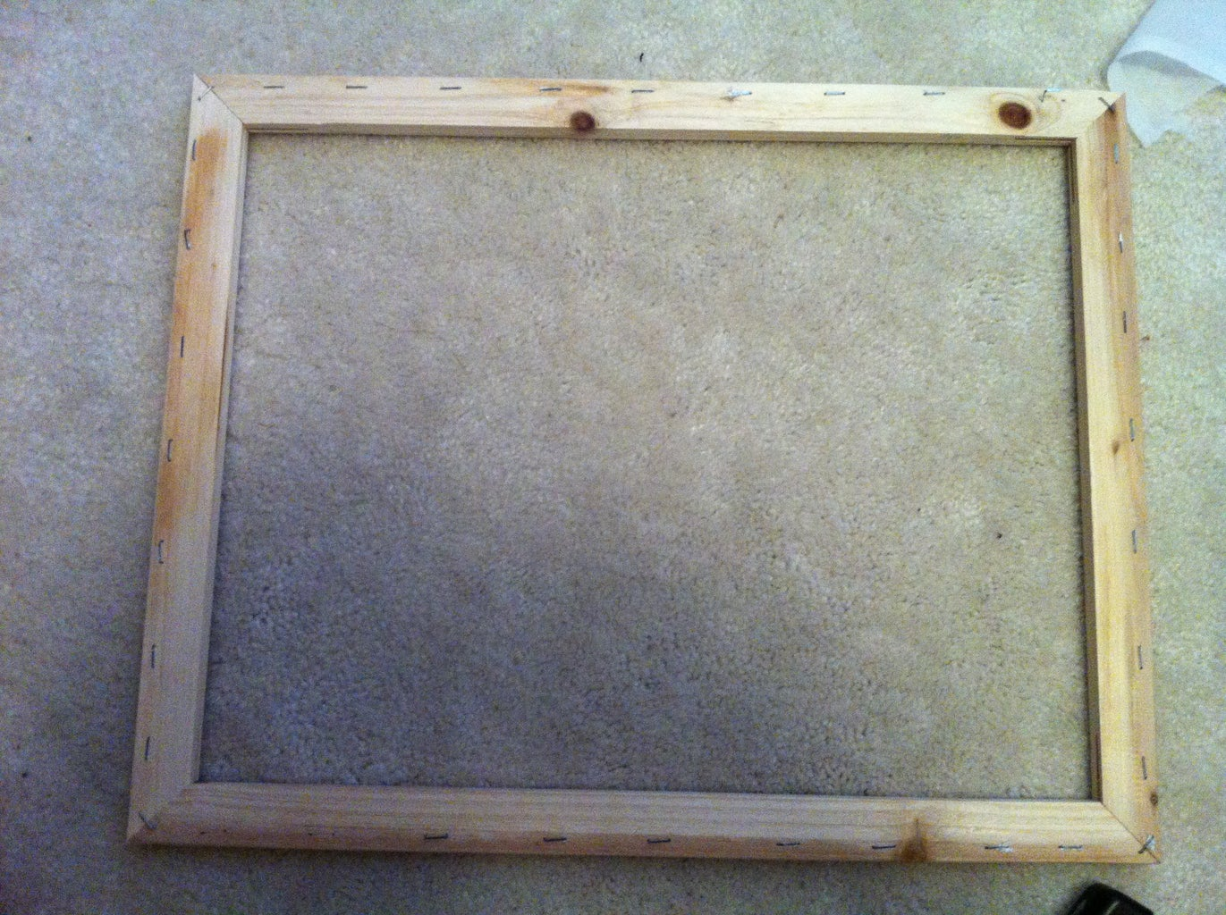 Prepare the Wooden Frame.