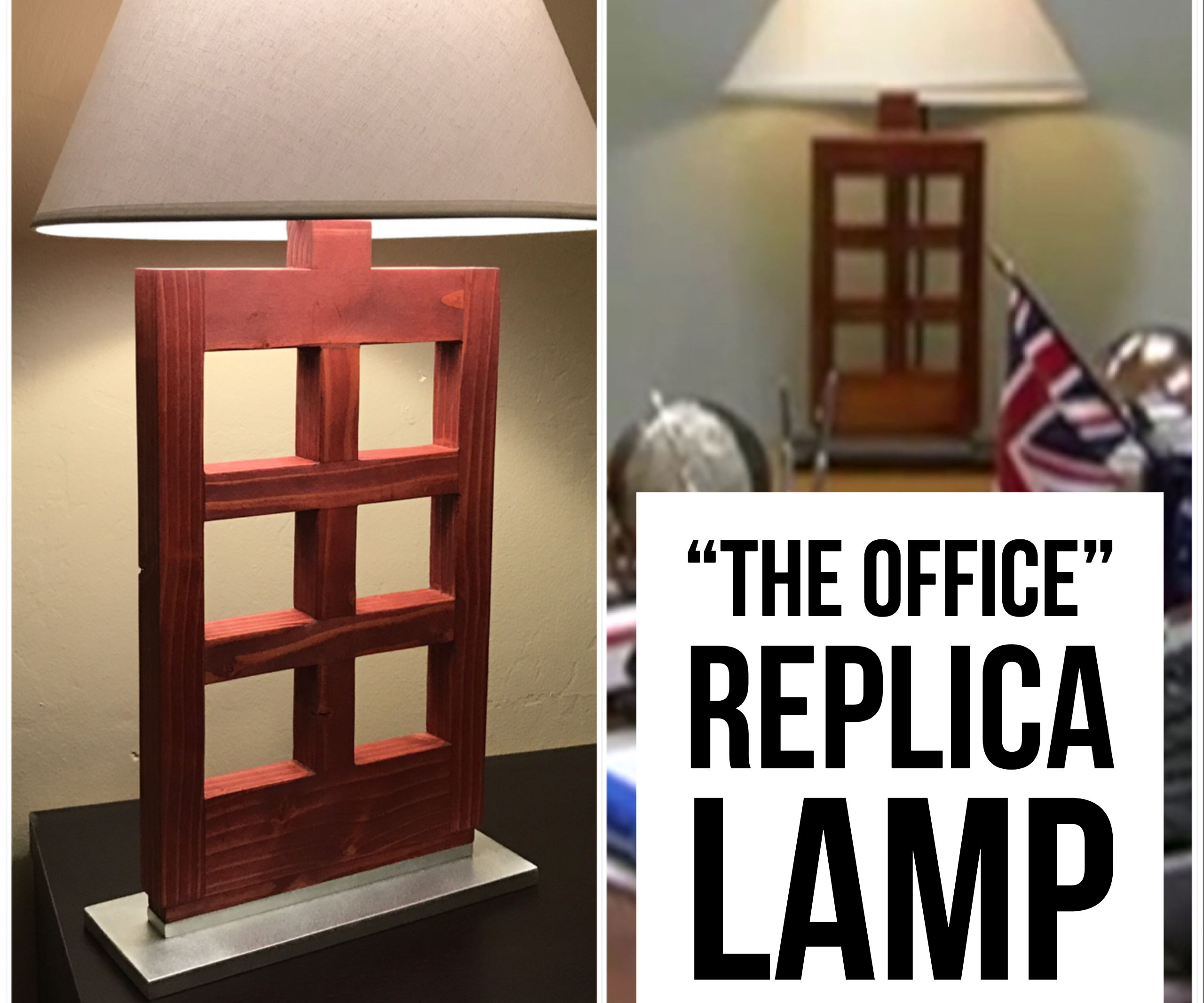 """The Office"" Replica Lamp"