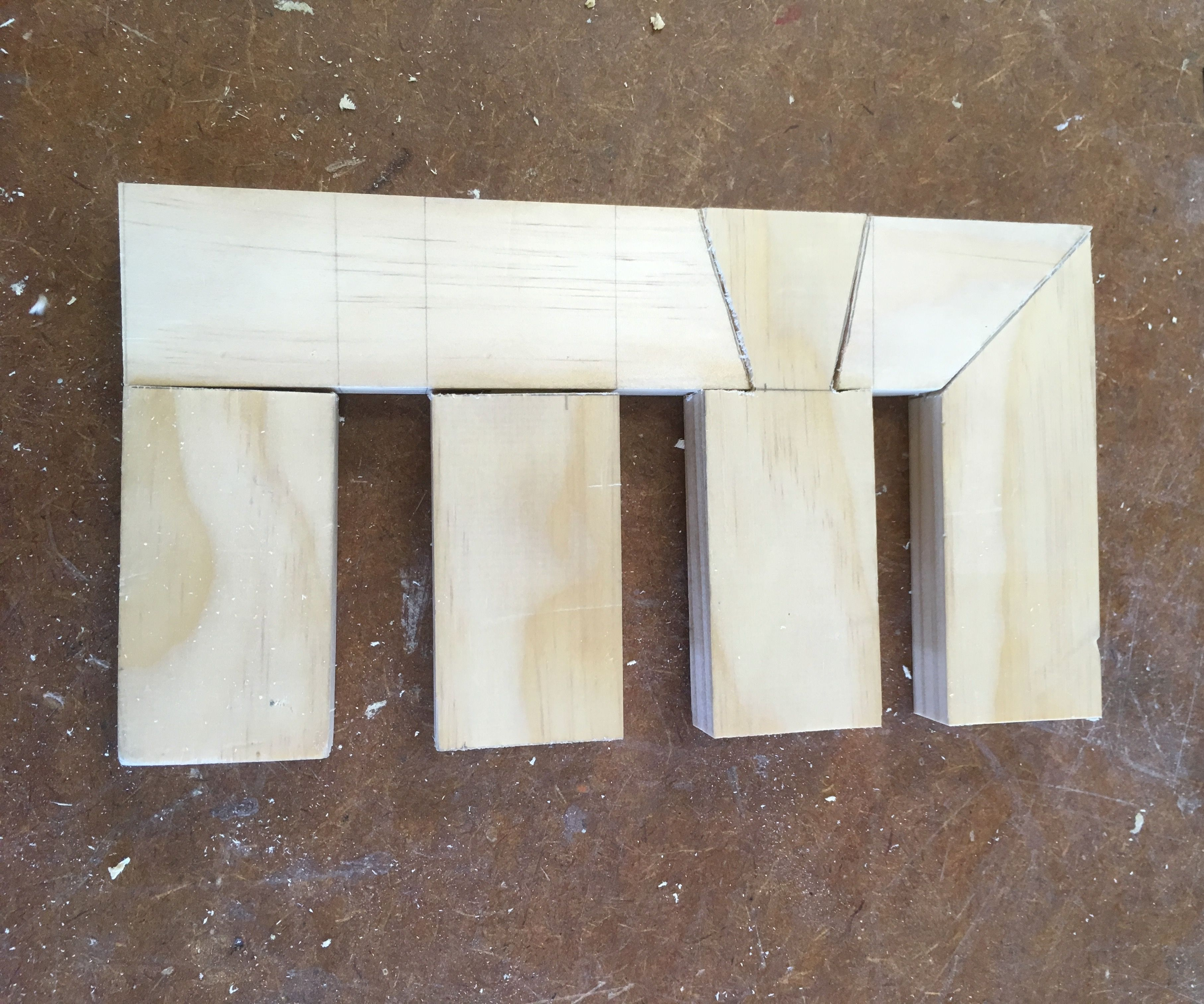 Wooden Practice Joints