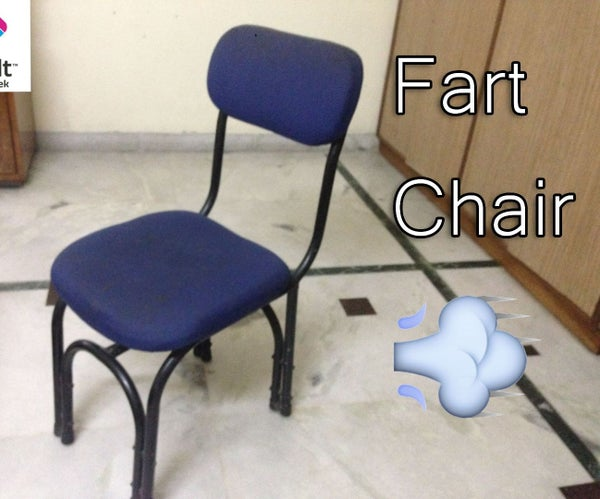 DIY - SMS Fart Prank Chair! [ With Linkit ONE ]