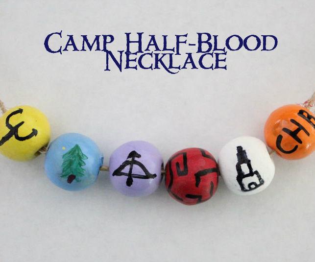 Percy Jackson's Camp Half-Blood Necklace