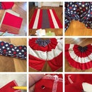 How to Make Patriotic Bunting the Easy Way-for Memorial Day & 4th of July