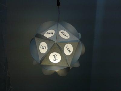 Light Up!! & Finished Lamp