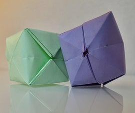 How to Make an Origami Balloon (Water Bomb)
