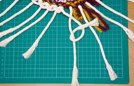 Create the Outer Braid of Rope