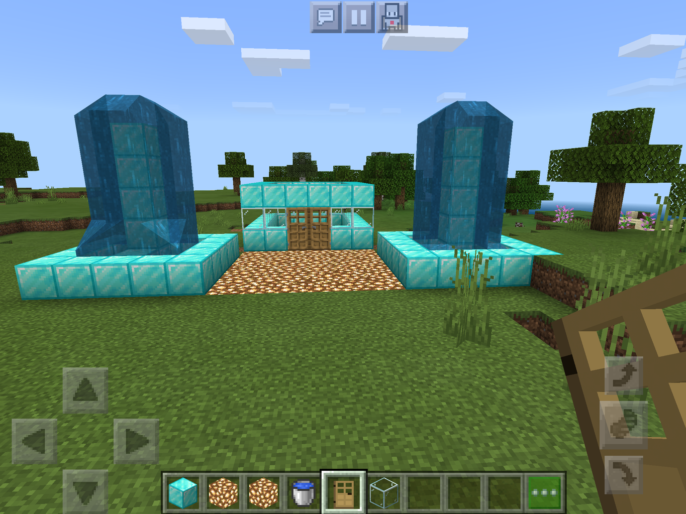 How to Make a Fountain in Minecraft