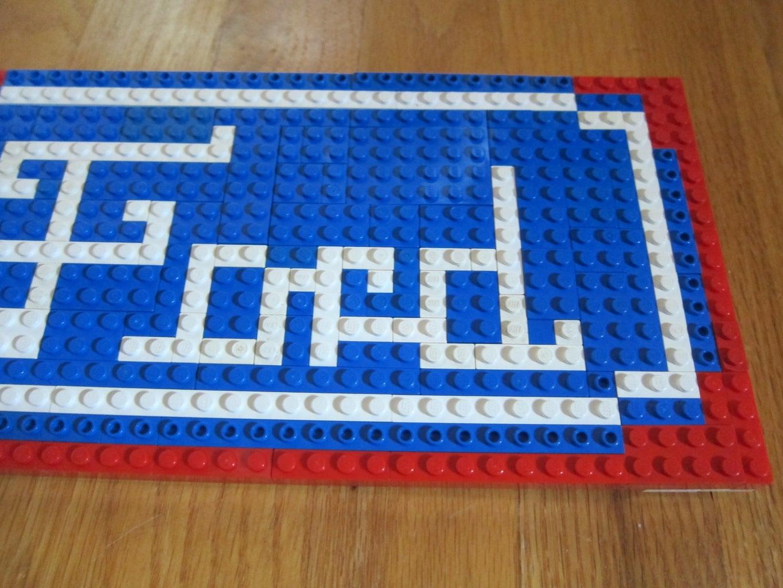 Ford Logo Lego Mosaic