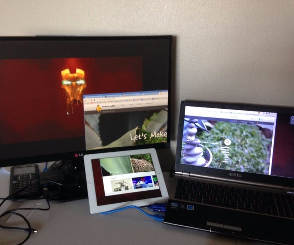 Tablet Second Monitor