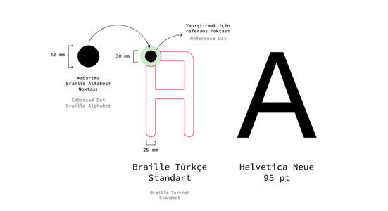 Braille TR Font