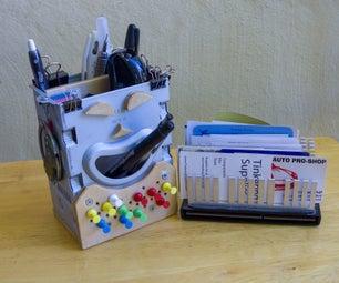 Geek Office Supply Organizer