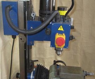 Gas Strut Counterbalance for the Mini Mill
