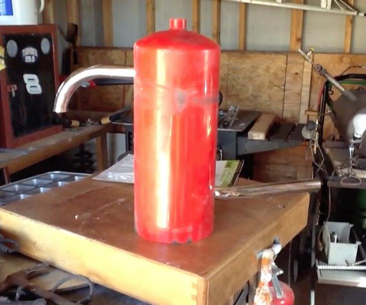 Making a Waste Oil Burner For Aluminum Melting