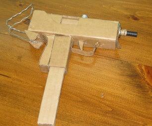 [Mac 10 Gun] From Cardboard