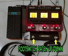 DIY Footswitch for Zoom B3 and Zoom G3