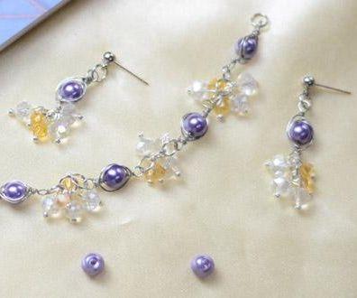 Beebeecraft Tutorials on How to Make Pearl Bracelet