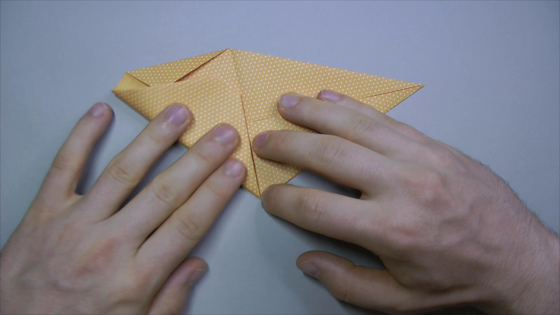 Fold in Diagonals of Left Part