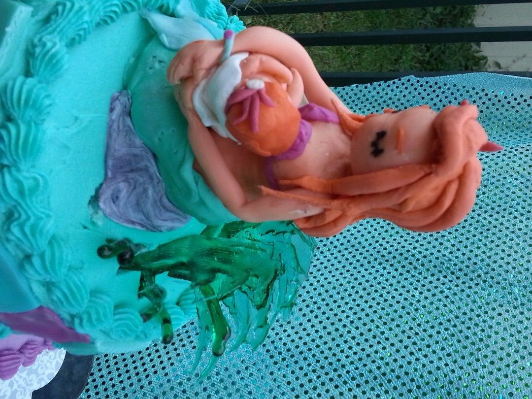 Mermaid Mother Cake
