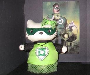 Hello Kitty Loves Green Lantern