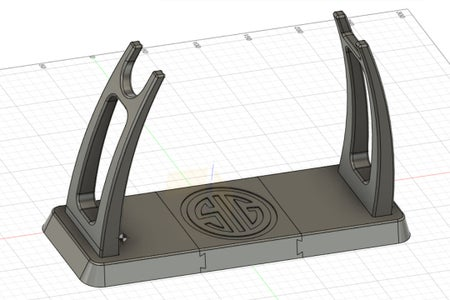 Sig Sauer MPX Copperhead Pistol Stand