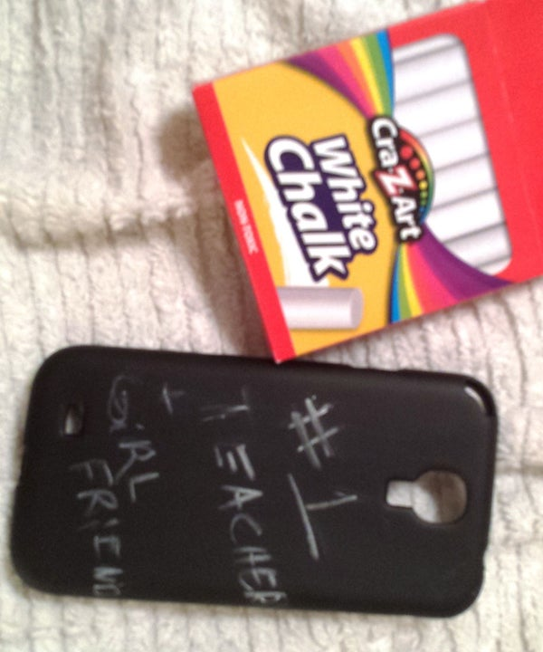 Chalk Board Phone Case