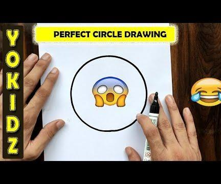 HOW TO DRAW PERFECT CIRCLE FREEHAND