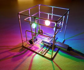 RGB Circuit Sculpture Lamp