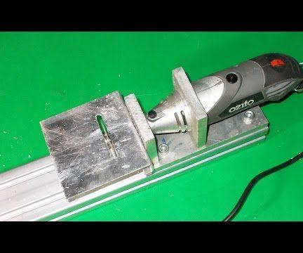 DIY Ozito Mini Wood Circular Table Jig Arrow Saw Cutting Machine