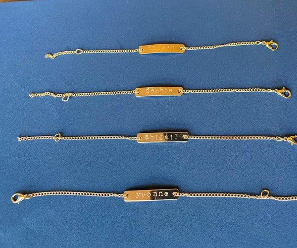 Making Engraved Bracelets