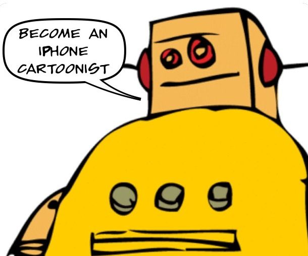 Become An iPhone Cartoonist