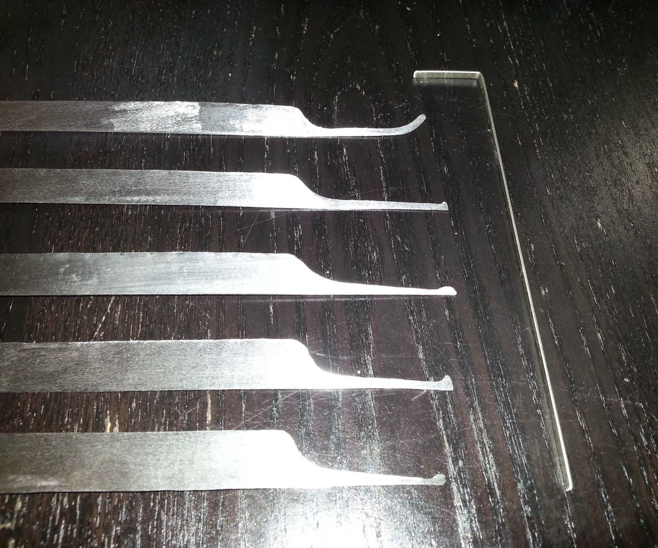 Making Lockpicks From Hacksaw Blades