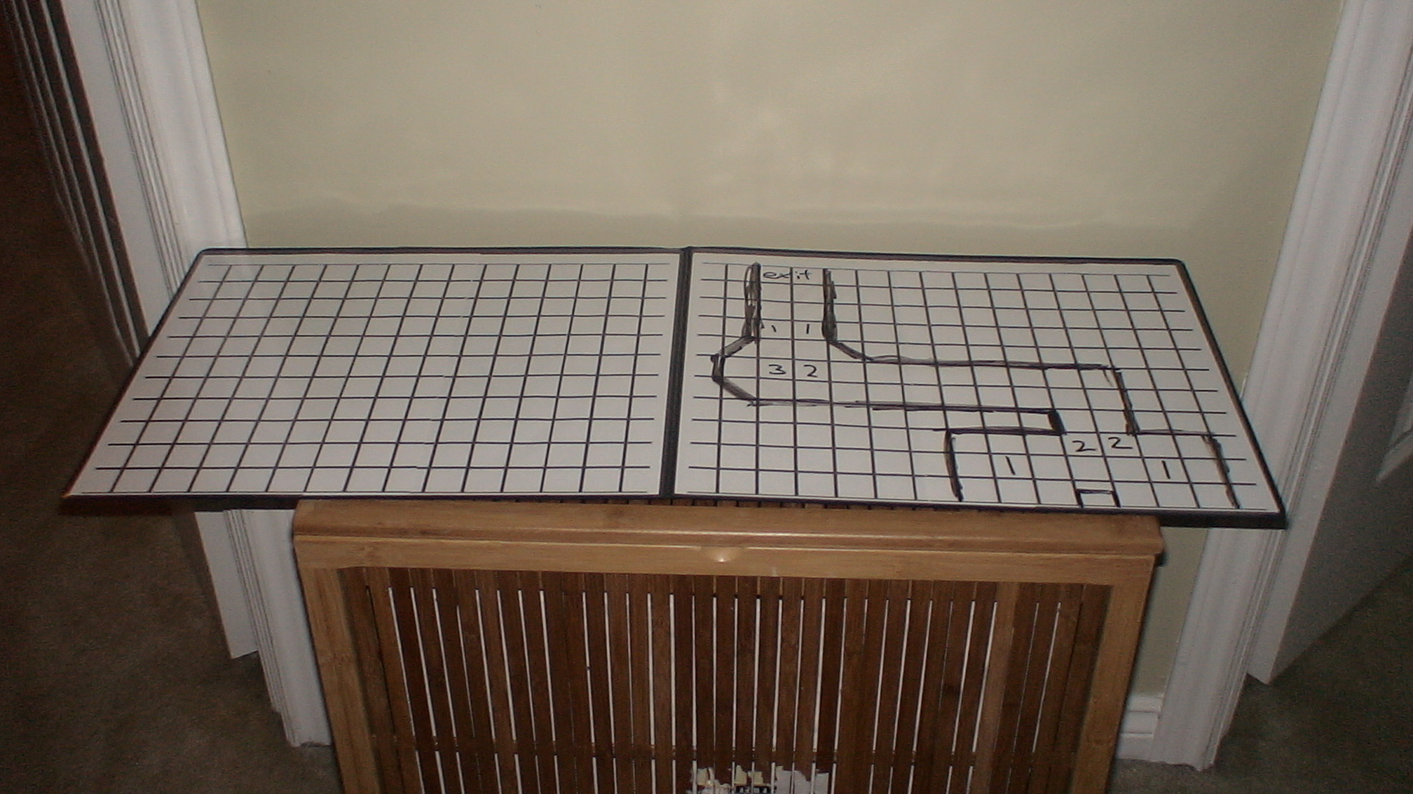 Reuseable DnD Dungeon Grid
