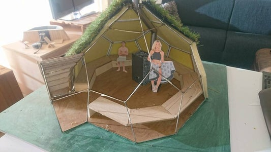Geodesic Dome Sauna
