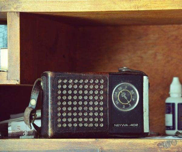 Convertir Una Vieja Radio En Un Portavoz Bluetooth