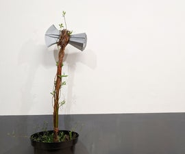 Woven Stormbreaker - Real Groot Plant