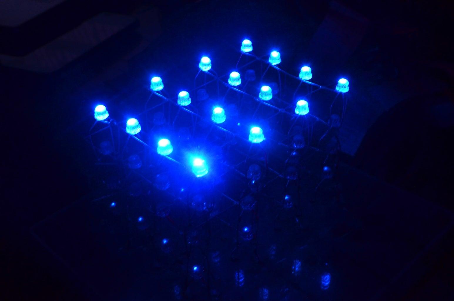 RGB 4x4x4 LED Cube