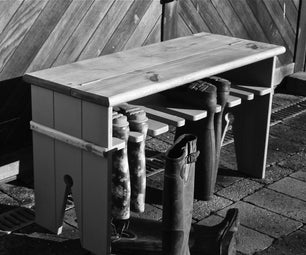 Wellie Boot Bench