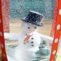 Holiday Snow Globe