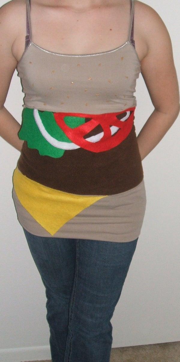 Cheeseburger Dress