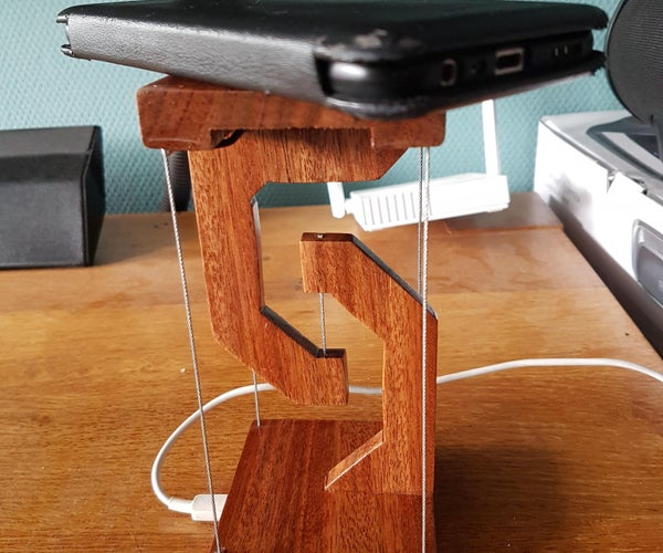 Floating Wireless Charger USB