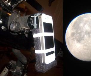 IPhone Mount for Telescopes