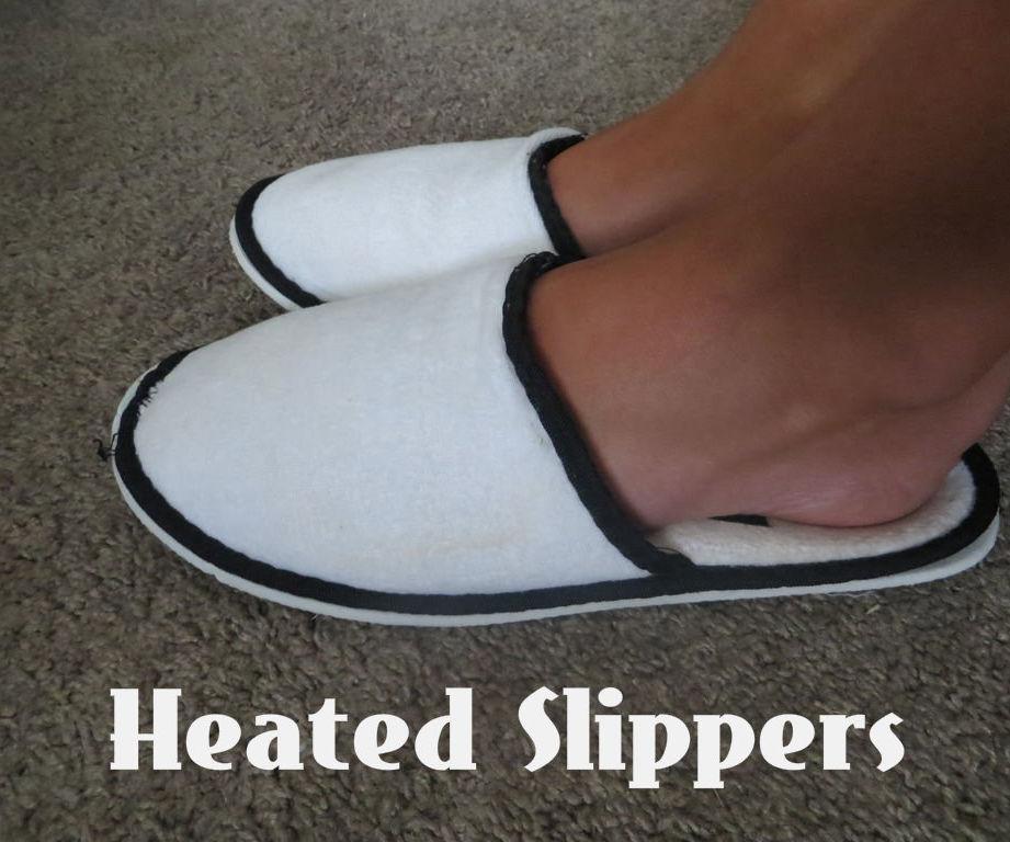 DIY Heated Slippers