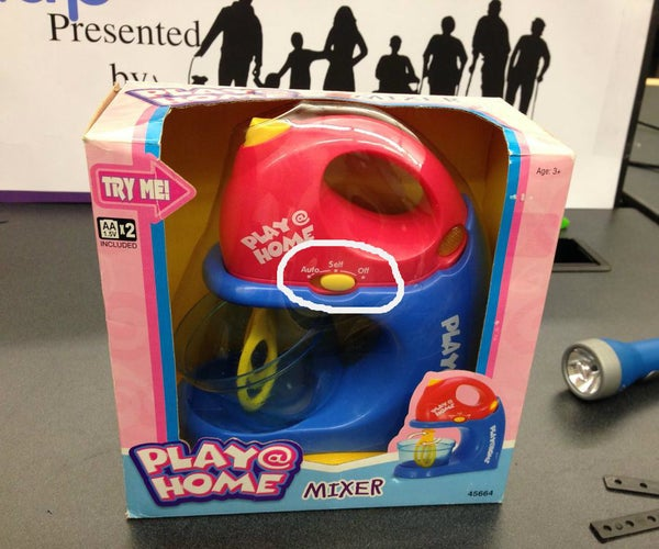 Switch-Adapt Toys: a Play @ Home Mixer Made Accessible!