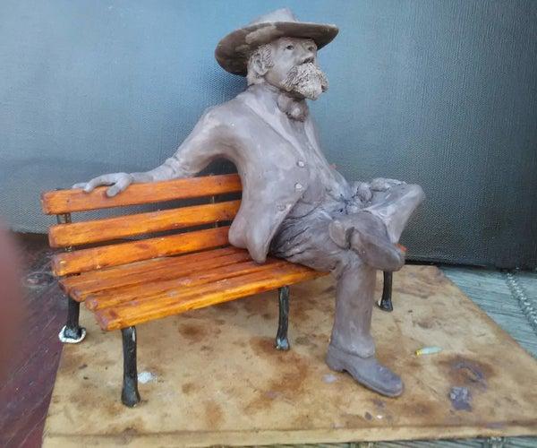 Seated Figurine