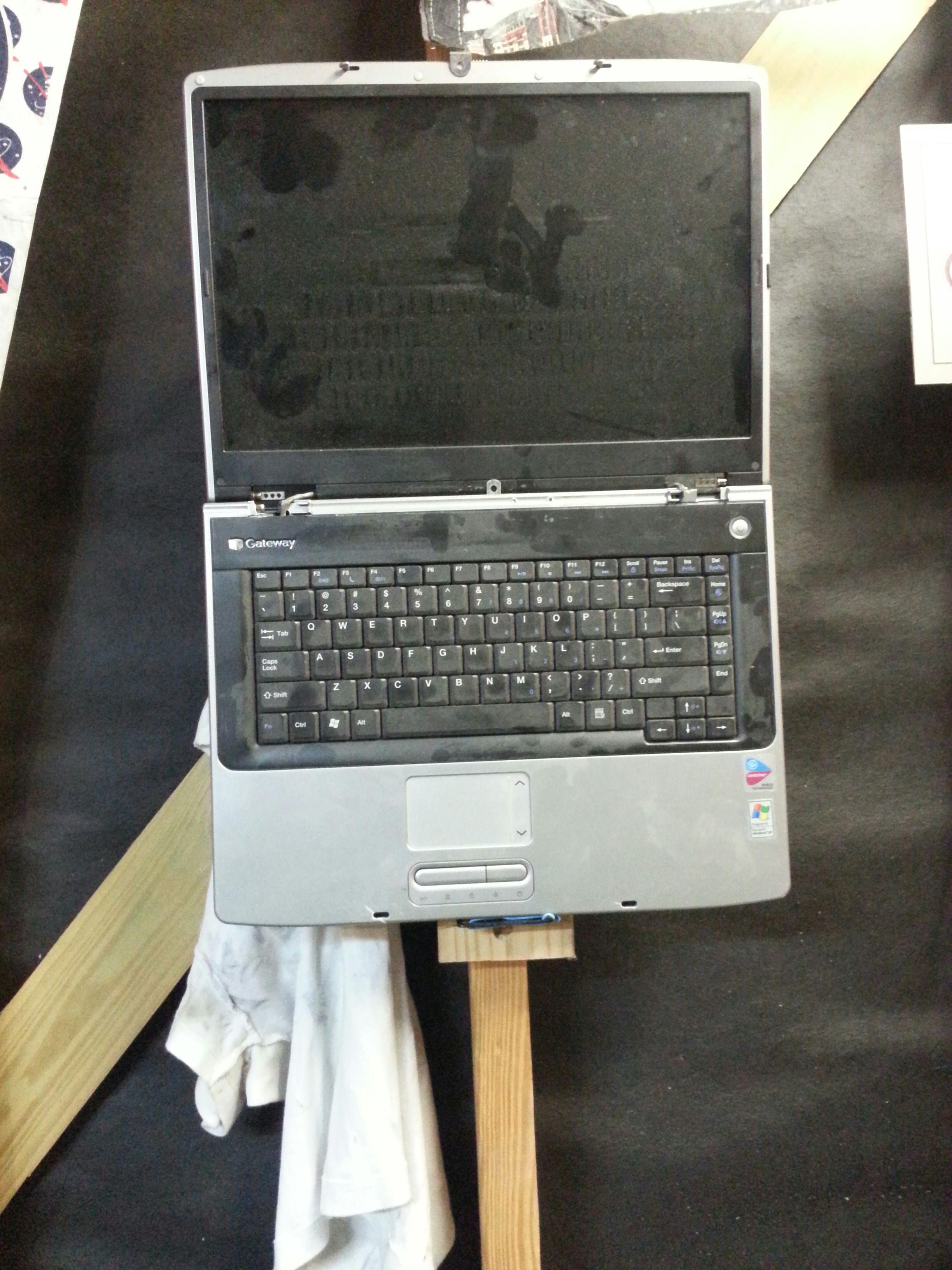 Work Shop Laptop Fix!